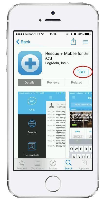 LogMeIn Rescue Step-by-Step Connection Guide – Starting a