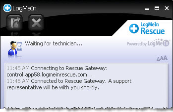 LogMeIn Rescue Step-by-Step Connection - Starting a Code ... | 349 x 227 jpeg 22kB